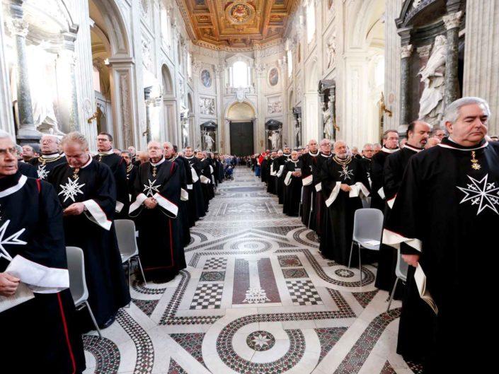 Causa di Beatificazione di Fra' Andrew Bertie, Gran Maestro dell'Ordine di Malta. Basilica di San Giovanni in Laterano, Roma 20 febbraio 2015.