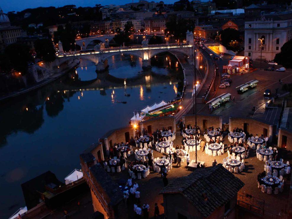 Cena aziendale Castel Sant'Angelo