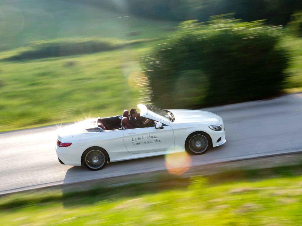 Mercedes sponsor ufficiale del Festival dei 2 mondi Spoleto. Luglio 2016.