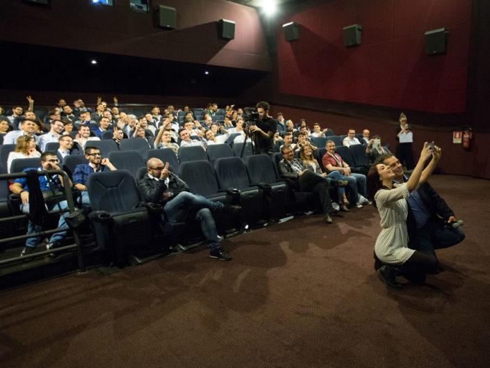 Lancio dello smartphone Huawei Honor presso il cinema Space Moderno. Roma giugno 2016
