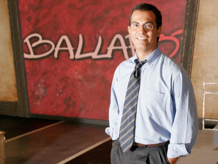 Il conduttore di Ballarò, Giovanni Floris. 2007