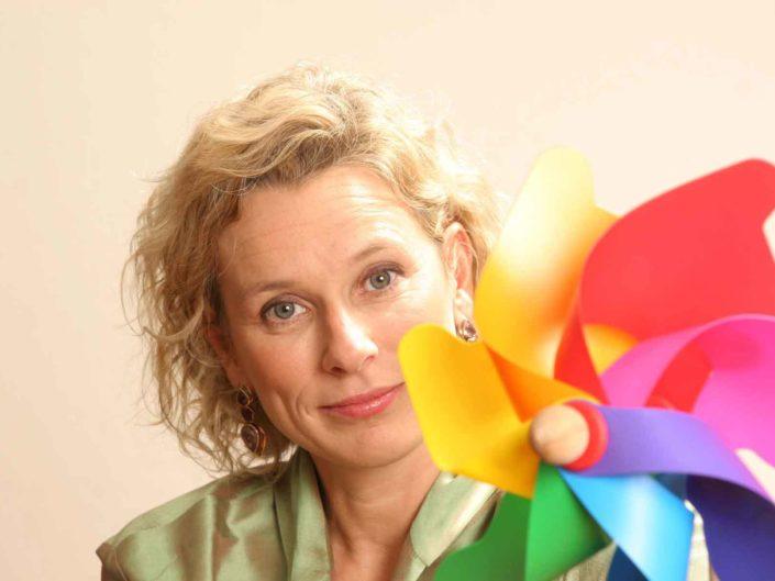 Il Ministro dello sport Giovanna Melandri. 2006