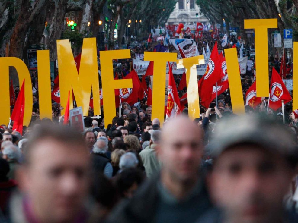 No Berlusconi Day - Roma 5 dicembre 2009