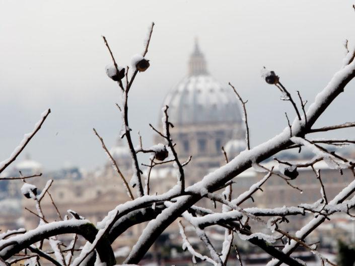 Neve a Roma. 12 febbraio 2012
