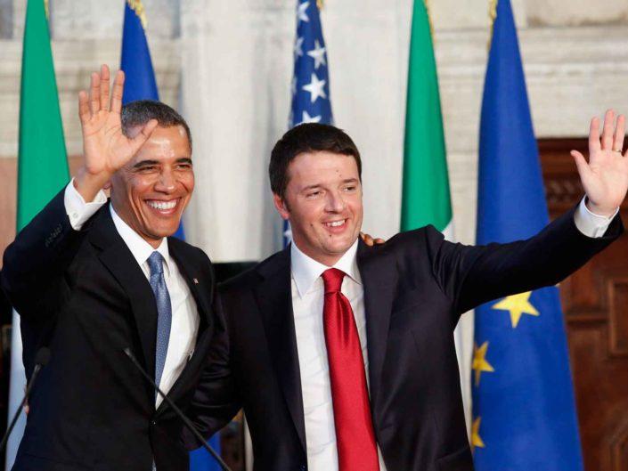 Il Presidente americano Barack Obama incontra il Presidente del Consiglio Matteo Renzi. Roma marzo 2014