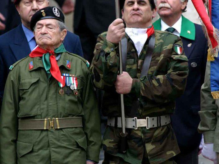 Celebrazione della Liberazione al Quirinale. 25 aprile 2005